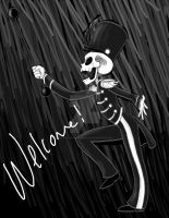 Welcome, You Are Dead! by pistol-paintbrush493