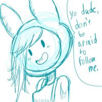 Fionna wants you to follow her by NamePendingCreations
