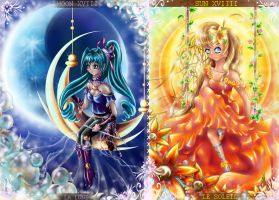 SUN and MOON by anmarija3