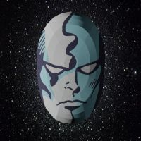Papercraft Silver Surfer Mask by Tektonten