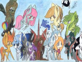 CP The Whole Family by DiscoverstarsArtwork