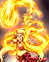 Fire Dance by Karra-shi