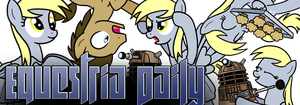 The Derpy Dimension EQD banner by drawponies