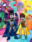 Holy 50th, Batman and Robin by SonicClone