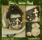 Fairy Warrior Mask by Angelic-Artisan