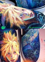 Final Fantasy Cloud Shoes by artsyfartsyness