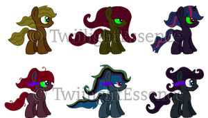 King Sombra X Mane 6 Adopts *Open* Lowered Prices by ShiptasticThree