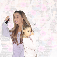 Ariana Grande by Zsilvia-Editions