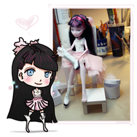 Love the chibi me! by aponiatowska