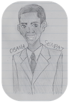 Obama-senpai by fictionmeister