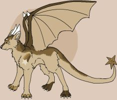 Wolf Dragon Adopt by Ink--Chan