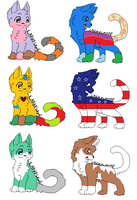 More random free adopts - (LOL adopts) - CLOSED by Larkflame