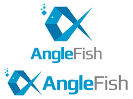 Angle Fish Logo Design by xstortionist