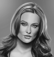 Olivia Wilde by geekyglassesartist
