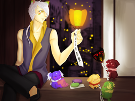 VolSa : Wish Lantern Event by ridekasama