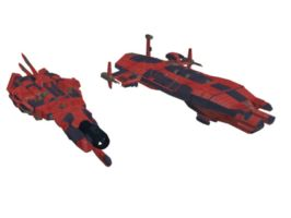 type drone and hw flak frigate by failurecrusade