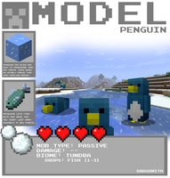 Minecraft - Penguin by Dragonith