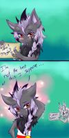 Harlie Asks her Out Collab by DreamingMystic