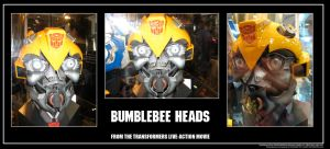 Bumblebee Heads by Poila-Invictiwerks