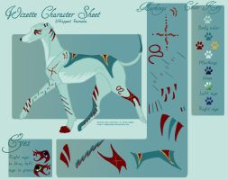 Wizette char sheet by tailfeather