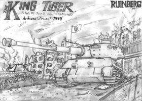 Tiger II Ausf.B by Xandier59