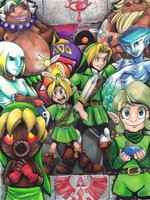 The Legend of Link by ScittyKitty