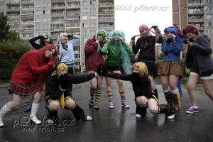 Czech vocaloid cosplay group- Matryoshka by Tessumomo