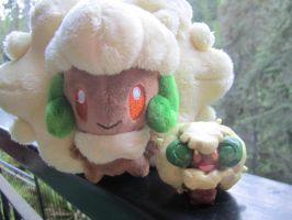 My little Whimsicott by lovelychu