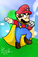 Cape Mario by PoisonLuigi