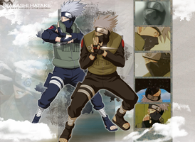 Kakashi as a kid without his mask
