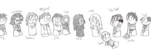 Scrubs Characters by Krizteeanity