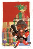 TF2: Its a Small World Demoman by jiggly