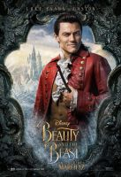 Luke Evans as Gaston in Beauty and the Beast by Artlover67
