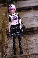 Pastel goth outfit I by sherimi