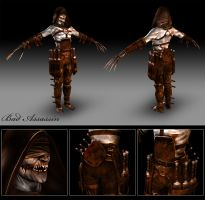 Bad Assassin Modelsheet by 3DSillium