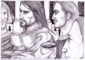 A Memory of Boromir by peet