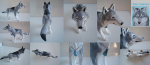 Tala sculpture by LabradoriteWolf