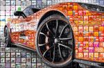 Car mosaic by juzamn