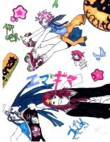 Air Gear Randomness by avalonstar12