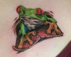 Tree Frog For Life by hyperpittie