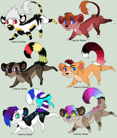 Chibi Lion adoptables-OPEN by TinyWolfy