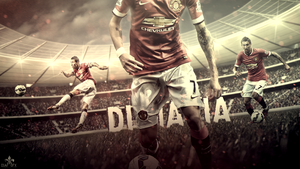 Angel Di Maria //Manchester United// Wallpaper by FLETCHER39
