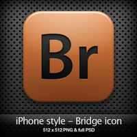 iPhone style - Br CS4 icon by YaroManzarek