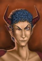 Devil In A Blue Toupee by emperial