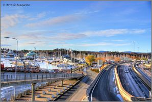 Boats and cars and trains by Arte-de-Junqueiro