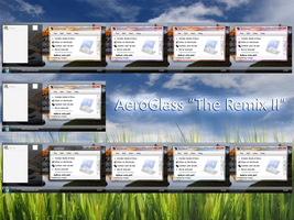 "AeroGlassXP V4 ""The Remix II"" by Ironjer"
