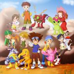 Digimon 10th anniversary by MidoriGale