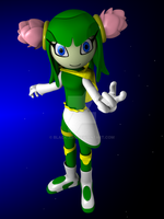 Cosmo In sonic riders 5 by Black-Arg