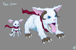 Poro-Gnar Skin Idea by TheDirtyTomato