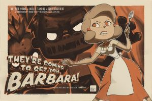 Barbara Poster by Roggles